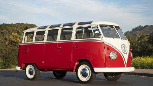 1961 Volkswagen 23-window Samba Microbus