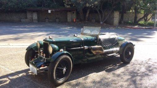1933 Aston Martin ULSTER REPLICA