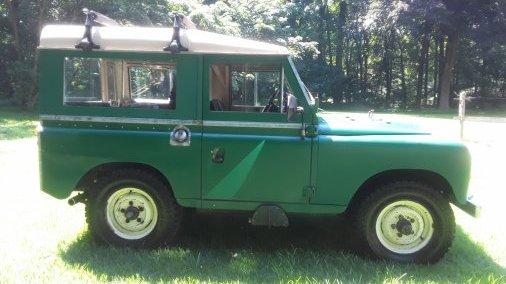 1974 Land Rover Series III 88