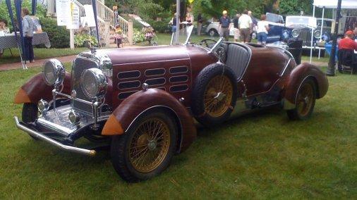 1924 Hispano Suiza Tulip roadster