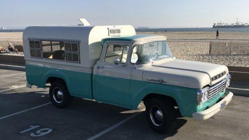 1959  Ford F100  Custom Cab