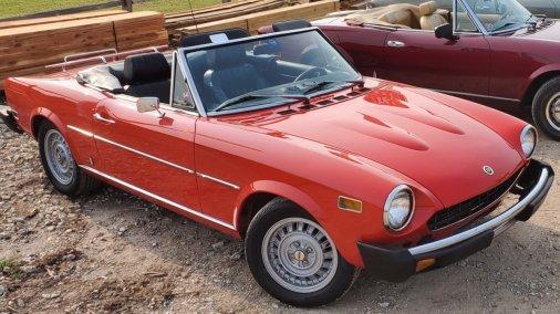 1978 Fiat 124 Spider