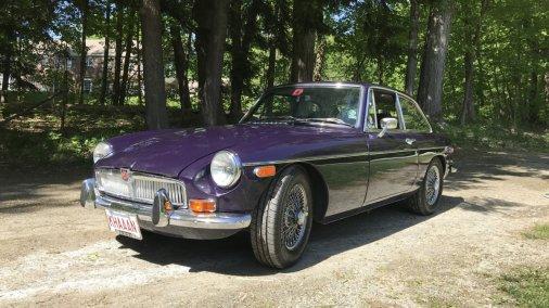 1970 MG B-GT