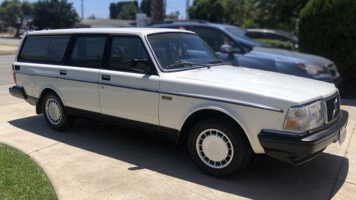 1988 volvo 240DL